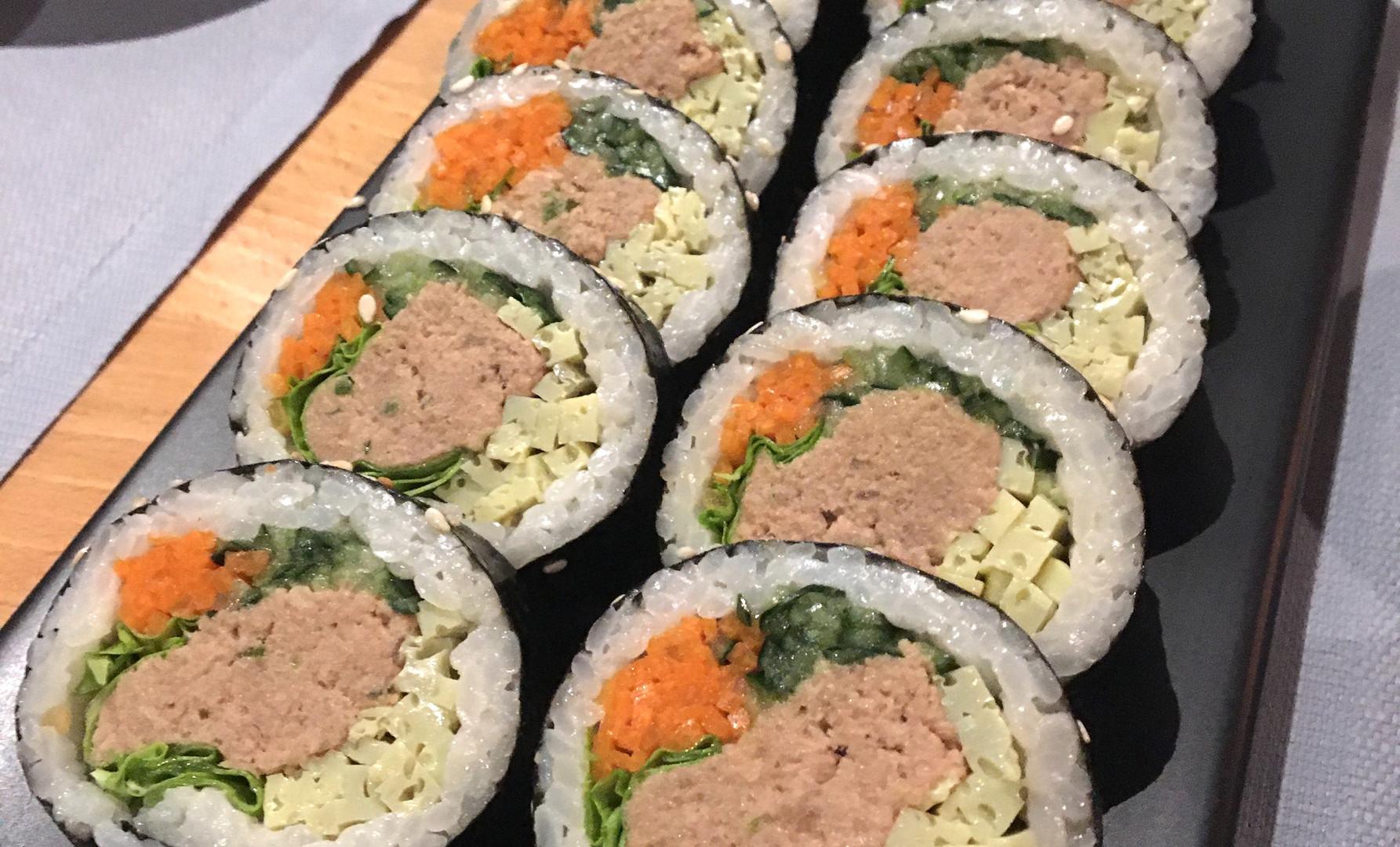 Kimbab al tonno