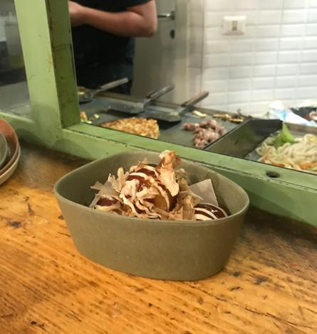 Takoyaki di polpo