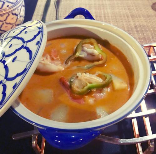 Kung Matsamann - gamberi al curry matsamann
