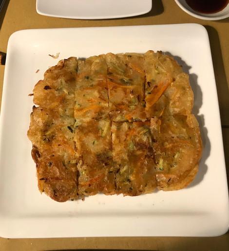Jeon con verdure