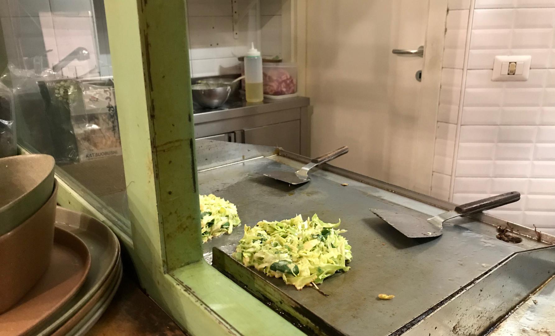 Okonomiyaki _ work in progress