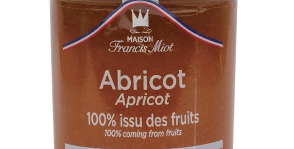 APRICOT 100% FRUIT SPREAD 210g