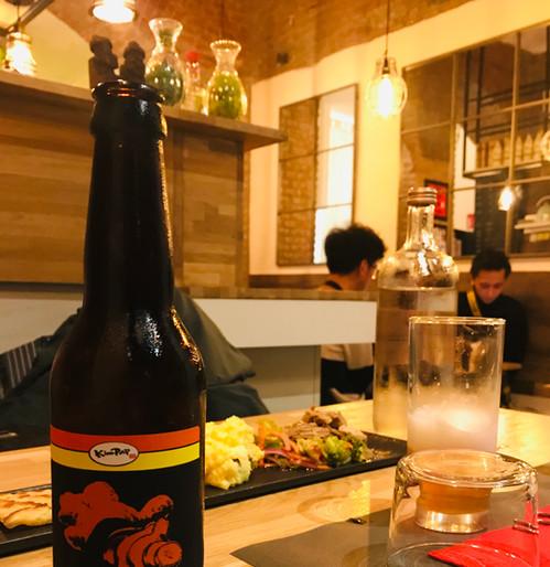 Ginger Korean beer