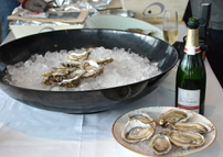 Oyster and Champagne tasting organized for Lognino & Cardenal at Isola restaurant - HK