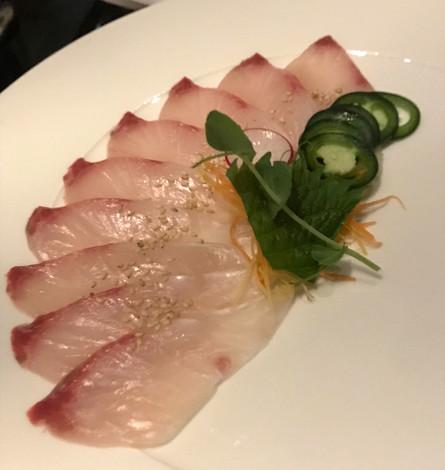 Zuke Maguro - Tonno scottato e marinato nella salsa di soia con wasabi
