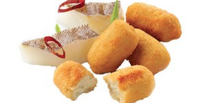 UNSALTED CODFISH CROQUETTES 250g