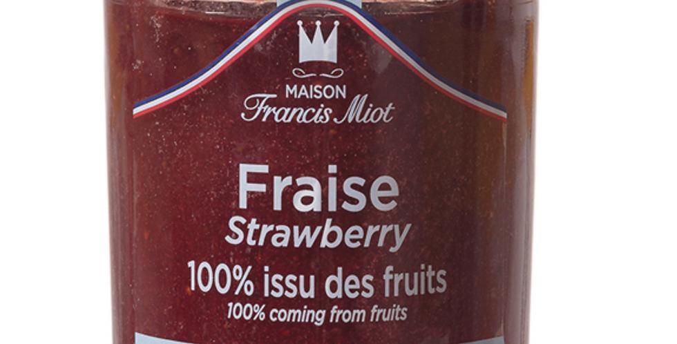 STRAWBERRY 100% FRUIT SPREAD 210g