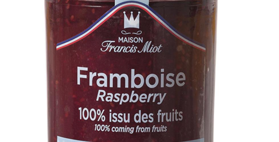 RASBERRY 100% FRUIT SPREAD 210g