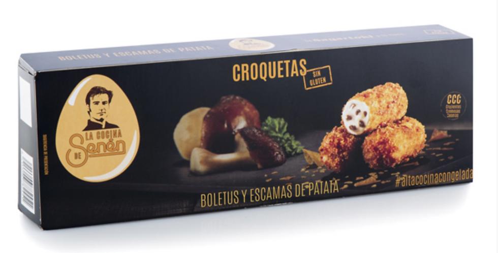 BOLETUS MUSHROOMS AND POTATOES CROQUETTES