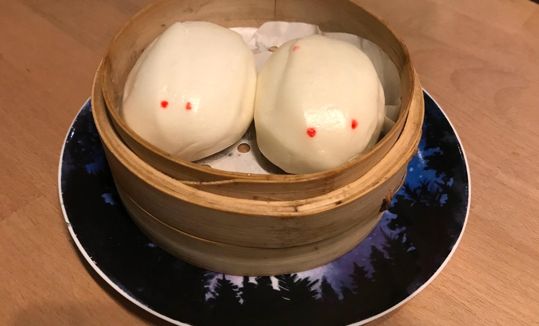 Steamed Custard Buns