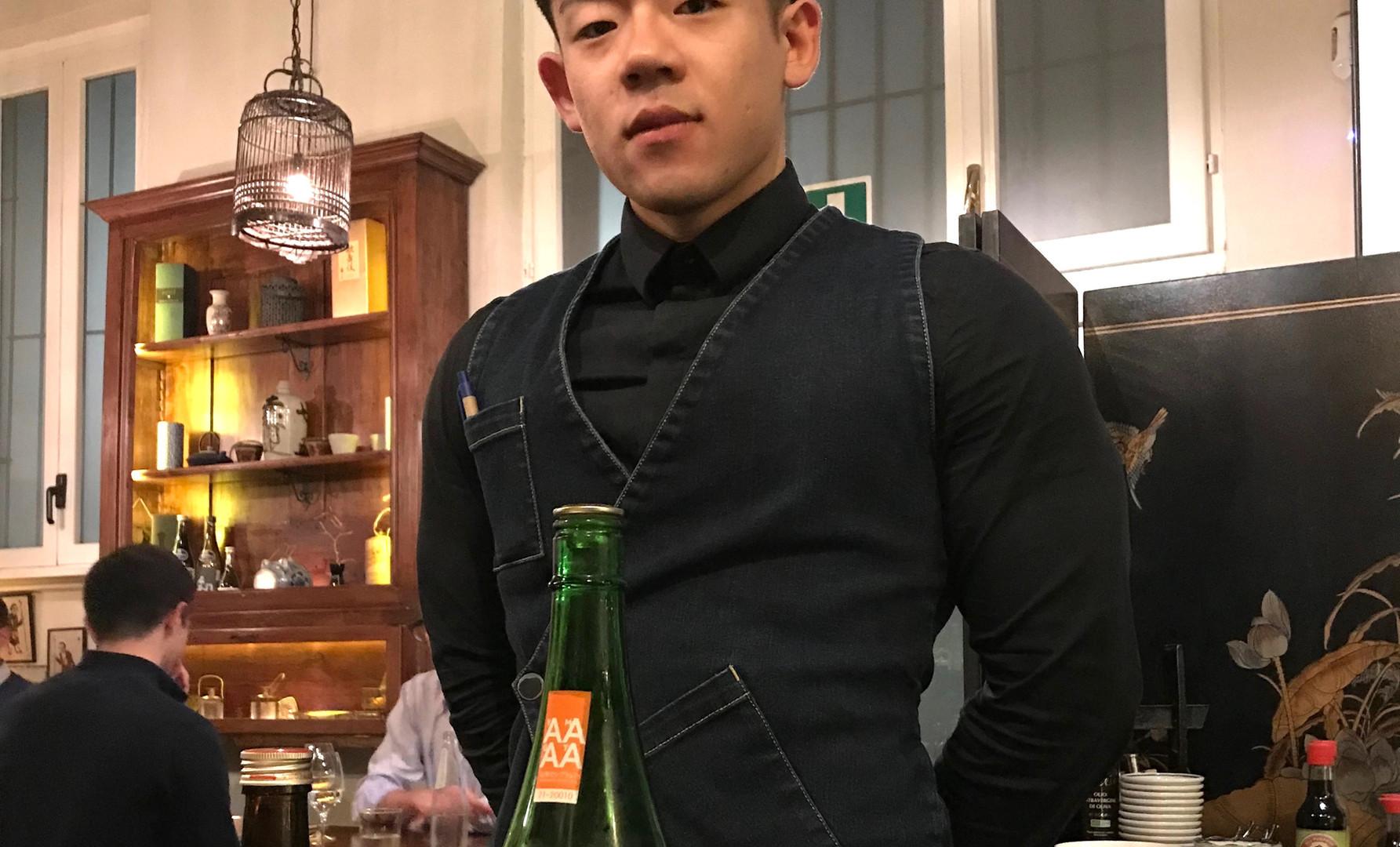 Bravissimo il sake sommelier