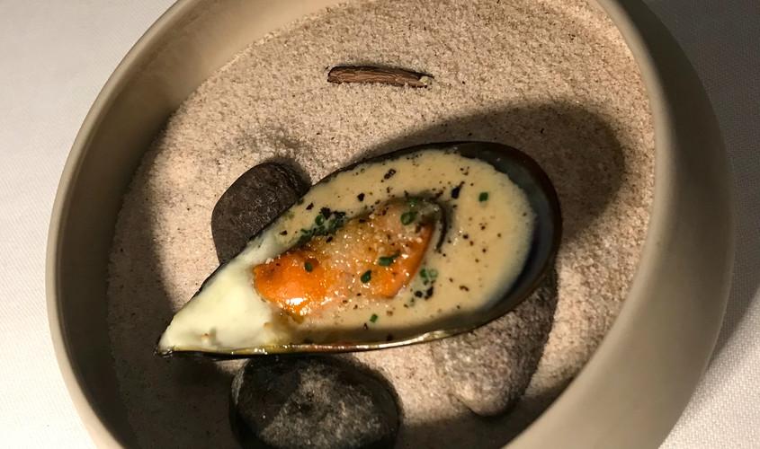 Cozza gratinata al pepe dello Yunnan