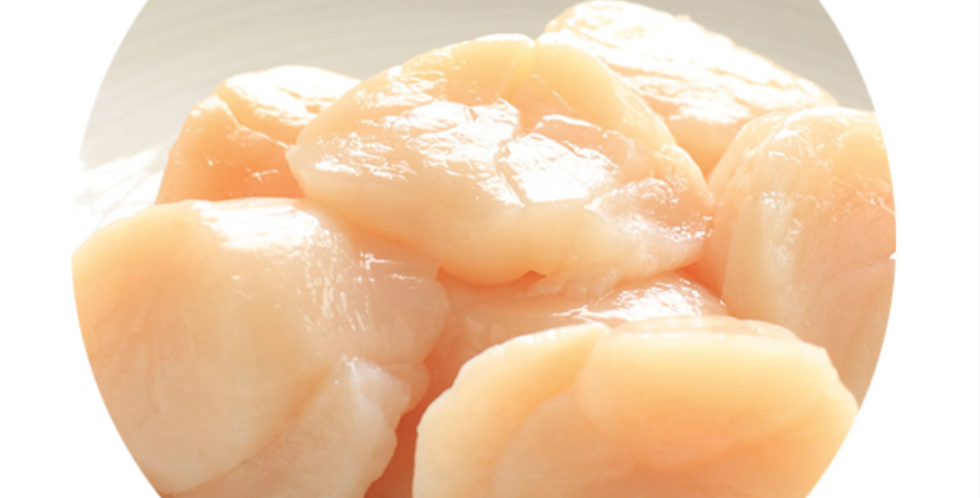 AMERICAN SCALLOPS WITHOUT SHELL AND CORAL 1kg