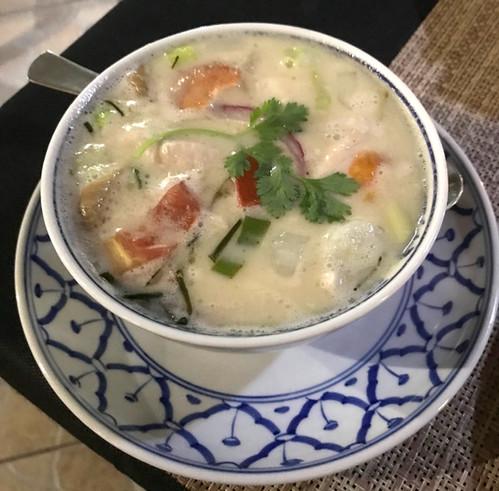 Khai - pollo al curry verde