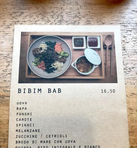 Il menu del pranzo 2/2