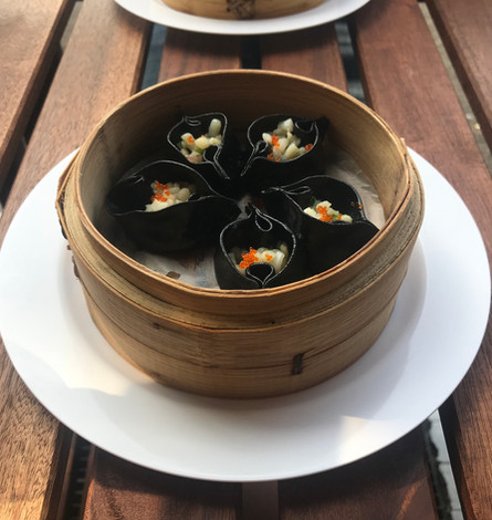 Dimsum ai calamari e verdure