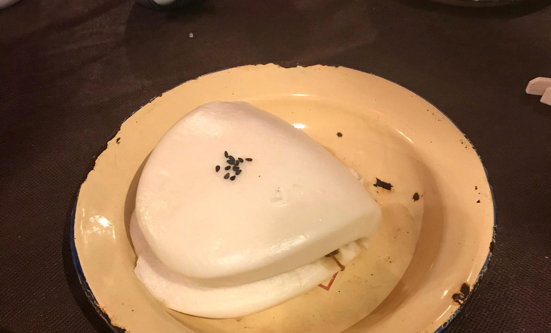 Maoji Bao filetto di manzo (o maiale) e salse