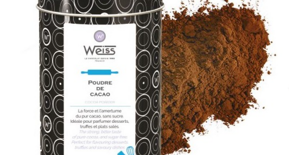 WEISS CACAO POWDER 250G