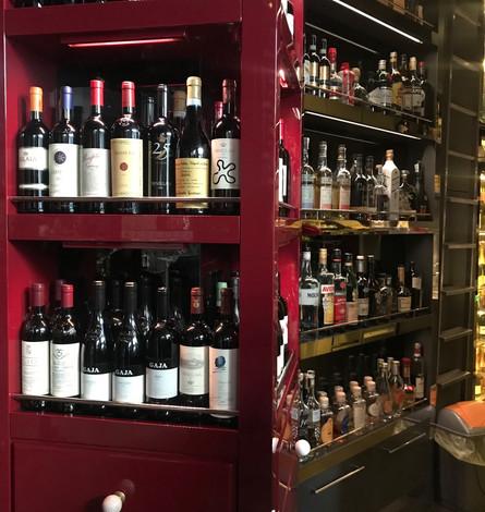 Bellissima selezione di vini