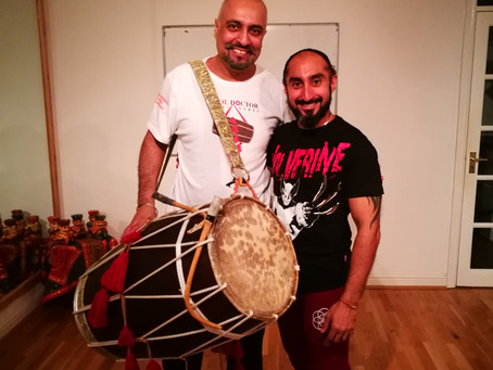 Learning Dhol and Folk Rhythms