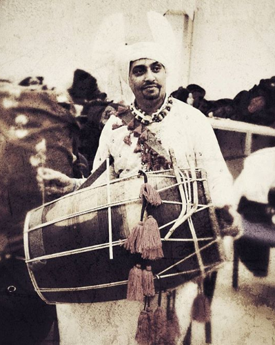 Ustad Gurvi Kambo aka Dhol Doctor
