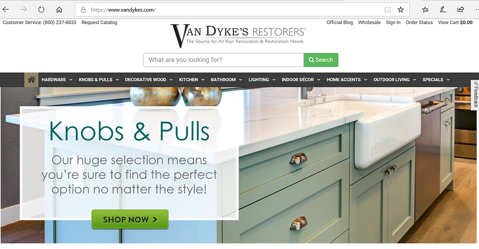 As Featured on VanDykes Home Restorers.P