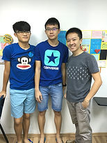 Physics Tutor Singapore with HCI Student