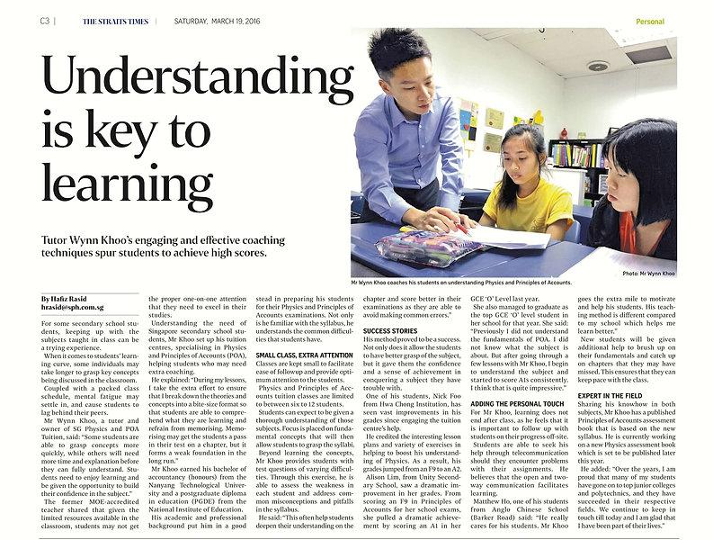 SG Physics tuition by Ex-MOE Teacher