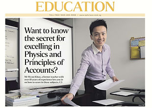 Physics tuition by Ex-MOE Teacher in Singapore