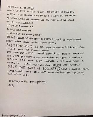 Testimonial for POA tuition by Mr Wynn Khoo