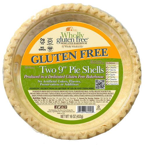 "Wholly Gluten Free 9"" Pie Shells"