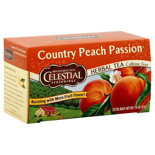 Country Peach Passion Tea by Celestial