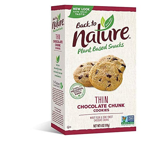 Chocolate Chunk Thin Cookies by Back to Nature