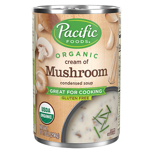 Cream of Mushroom GF Soup Pacific Foods