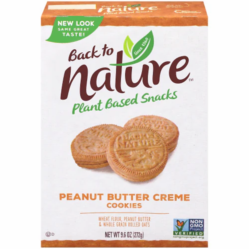 Peanut Butter Creme Cookies by Back to Nature
