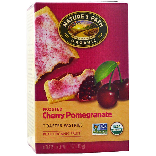 Toaster Pastry Cherry Pomegranate Frosted by Nature's Path