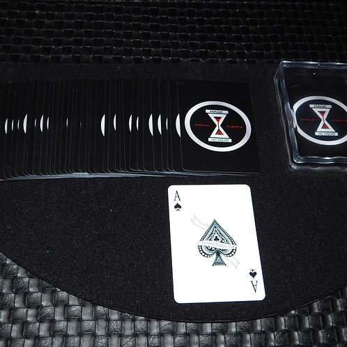 Logo Playing Cards with plastic case