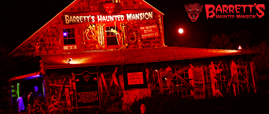 Barrett's Haunted Mansion Review