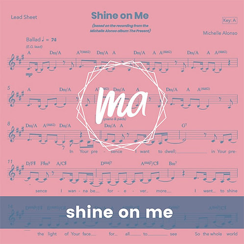 Shine on Me - Lead Sheet