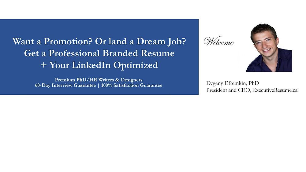 Professional Resume Writing Service, LinkedIn Optimization