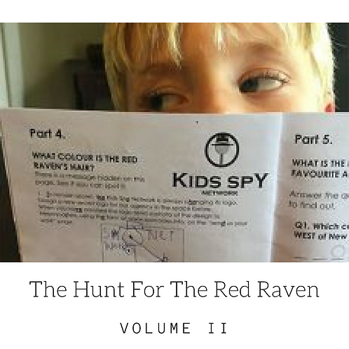 Red Raven Vol II - Download To Print (For up to three children)