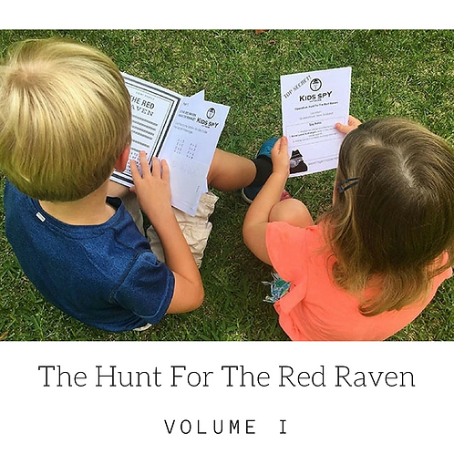 Red Raven Vol I - Download To Print (For up to 3 children)