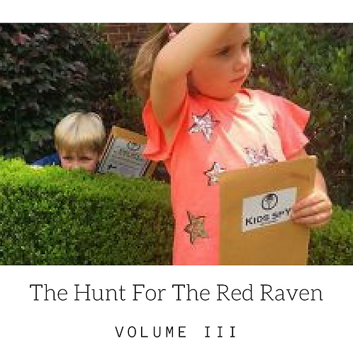 Raven Vol III - Download To Print (For up to 3 children)