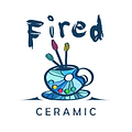 Fired ceramic logo