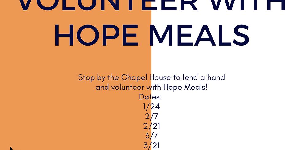 Hope Meals Volunteering