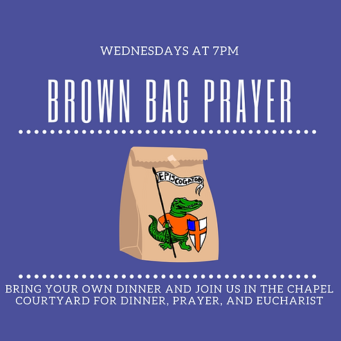 Brown bag dinner, prayer and eucharist (