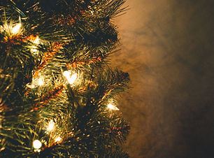 green-christmas-tree-with-string-lights-