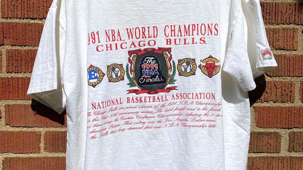 1991 Bulls Championship Tee