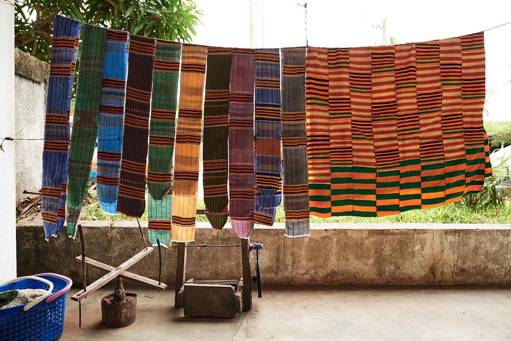 Strip Weaves created by Zumana Dambele