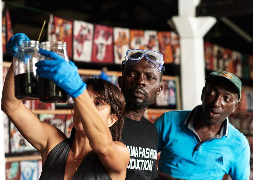 Workshop, Ivory Coast Rene & Joseph